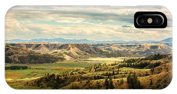 Fossil iPhone Case - Judith River Breaks by Todd Klassy