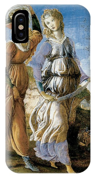 Botticelli iPhone Case - Judith With The Head Of Holofernes by Sandro Botticelli