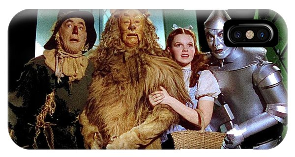 Judy Garland And Pals The Wizard Of Oz 1939-2016 IPhone Case
