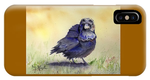 Judy's Raven IPhone Case