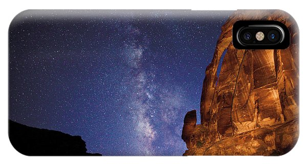 Jug Handle Arch And The Milky Way IPhone Case
