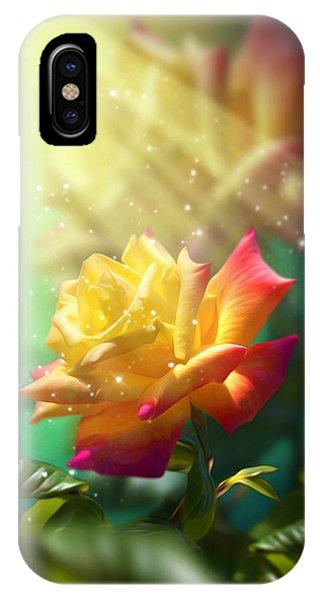 Juicy Rose IPhone Case