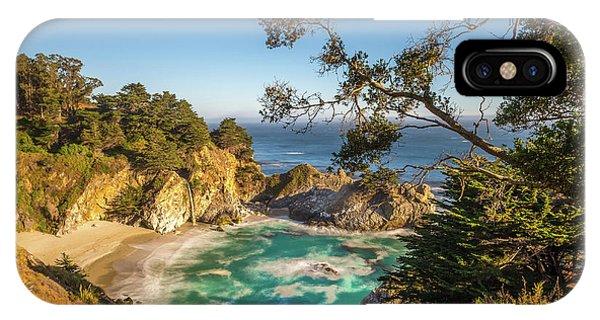 Julia Pfeiffer Burns State Park California IPhone Case