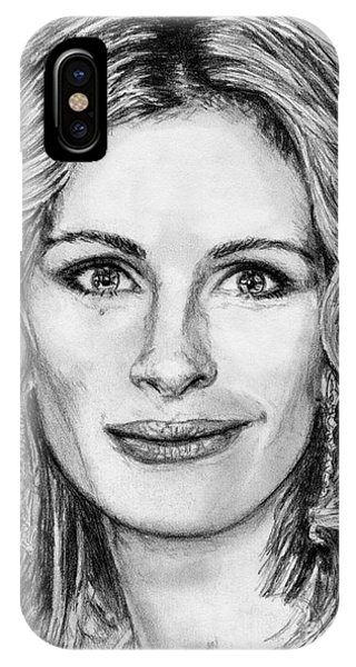 iPhone Case - Julia Roberts In 2008 by J McCombie