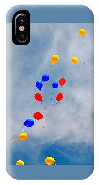 Julian Assange Balloons IPhone Case