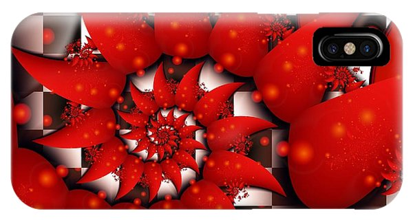 Julias Summer Red IPhone Case
