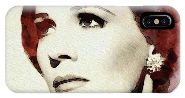 Andrew iPhone Case - Julie Andrews, Actress by John Springfield