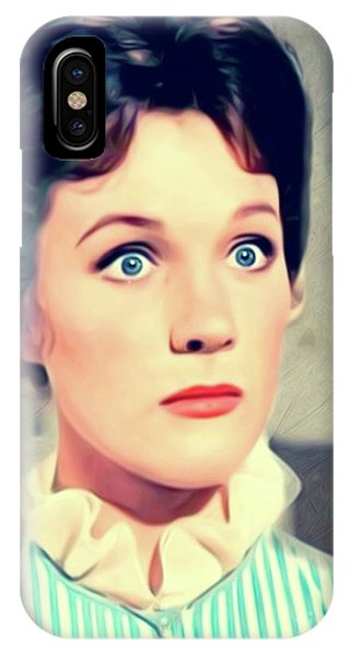 Andrew iPhone Case - Julie Andrews, Actress by Mary Bassett