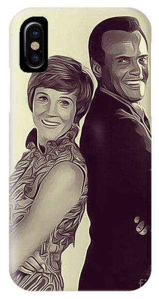 Andrew iPhone Case - Julie Andrews And Harry Belafonte by John Springfield