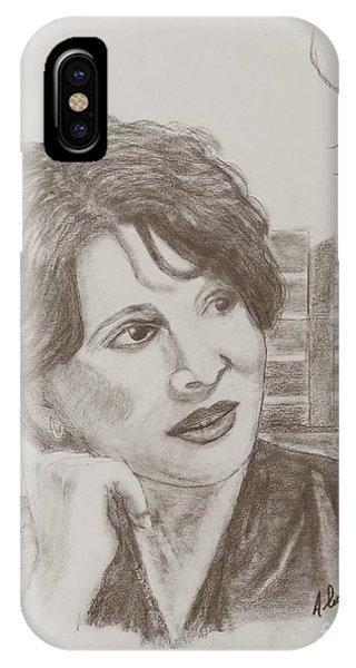 Juliette Binoche IPhone Case