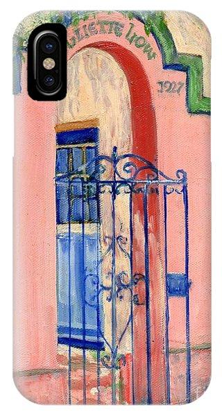 Juliette Low Garden Gate Savannah IPhone Case