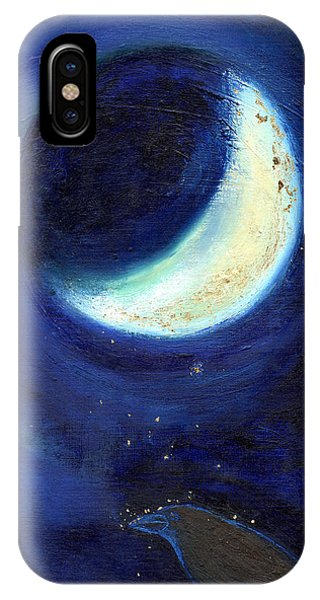 July Moon IPhone Case
