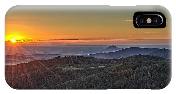 July Sunrise IPhone Case