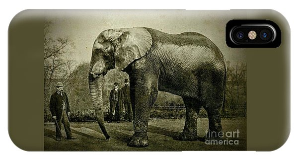 Jumbo The Elepant Circa 1890 IPhone Case