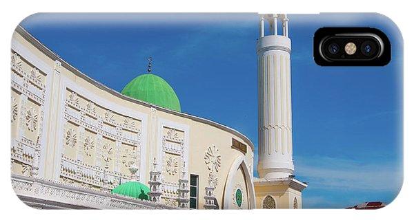 Jumma Mosque Wide IPhone Case
