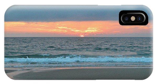 June 20 Nags Head Sunrise IPhone Case
