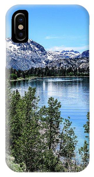 June Lake Portrait IPhone Case