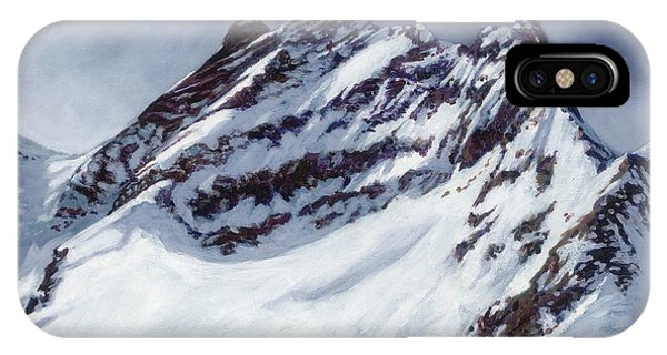 Jungfrau - Swiss Alps IPhone Case