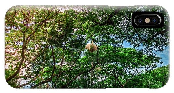 Jungle Canopy Kauai Hawaii Phone Case by Blake Webster