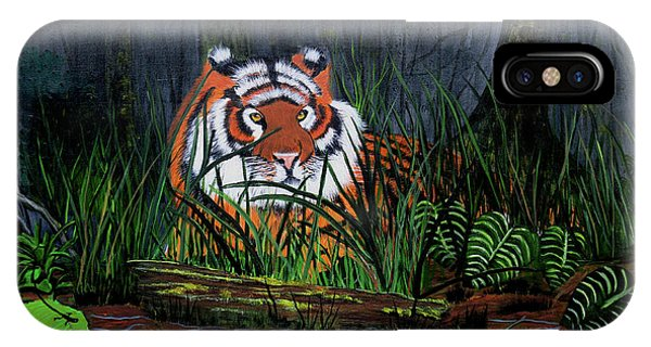 Jungle Cat IPhone Case