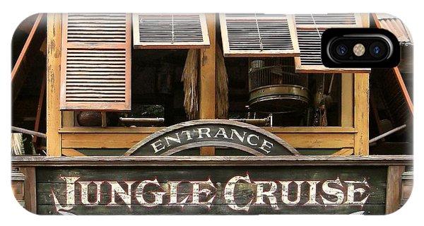 Jungle Cruise - Disneyland IPhone Case