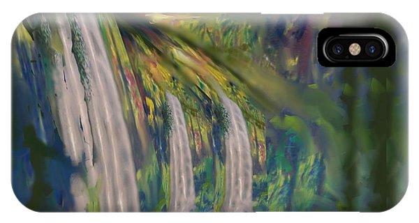 Jungle Falls IPhone Case