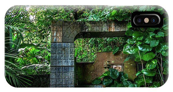 Jungle Gate Hana Maui Hawaii IPhone Case