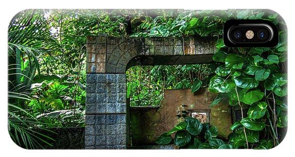 Jungle Gate Hana Maui Hawaii IPhone Case