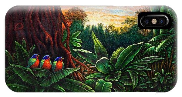 Jungle Harmony 3 IPhone Case