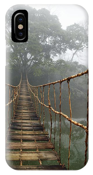 Architecture iPhone Case - Jungle Journey 2 by Skip Nall