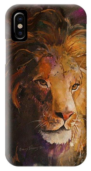 Jungle Lion IPhone Case
