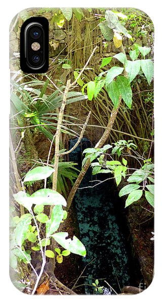 IPhone Case featuring the photograph Jungle Stream by Francesca Mackenney