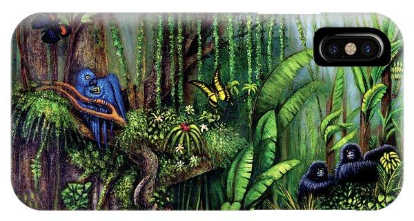 Jungle Talk IPhone Case