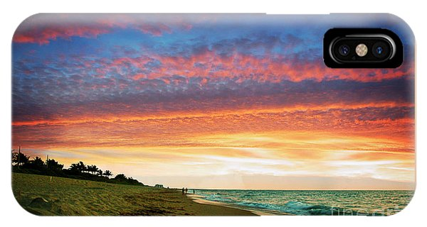 Juno Beach Florida Sunrise Seascape D7 IPhone Case