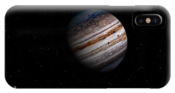 Jupiter And It 4 Major Moons IPhone Case