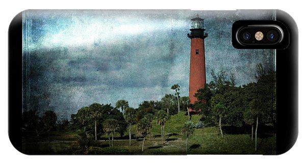 Jupiter Lighthouse-2a IPhone Case