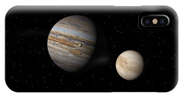 Jupiter With Io And Europa IPhone Case