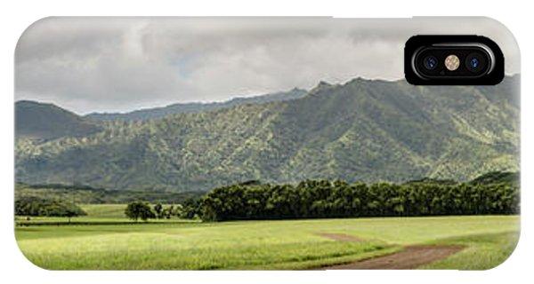 Jurassic Kahili Ranch Panorama IPhone Case