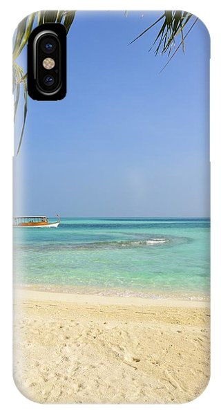 Just A Boat Ride Away IPhone Case