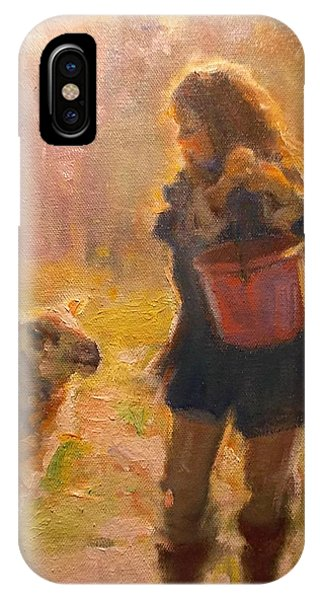 Just A Minute IPhone Case