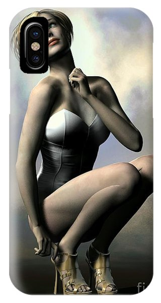iPhone Case - Just A Moment by Sandra Bauser Digital Art