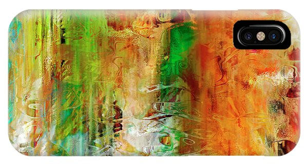 Just Being - Abstract Art IPhone Case