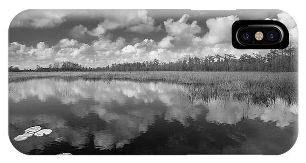 iPhone Case - Just Breathe In Black And White by Debra and Dave Vanderlaan
