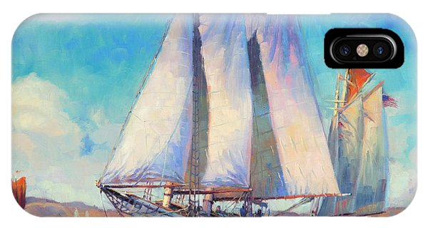 Whidbey iPhone Case - Just Breezin' by Steve Henderson