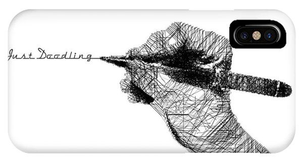 Just Doodling IPhone Case