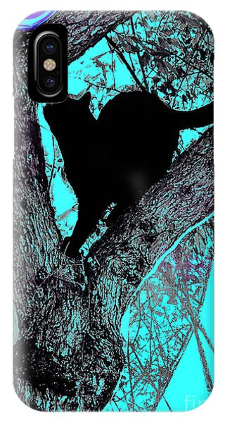 Fauve Cat And Moon IPhone Case