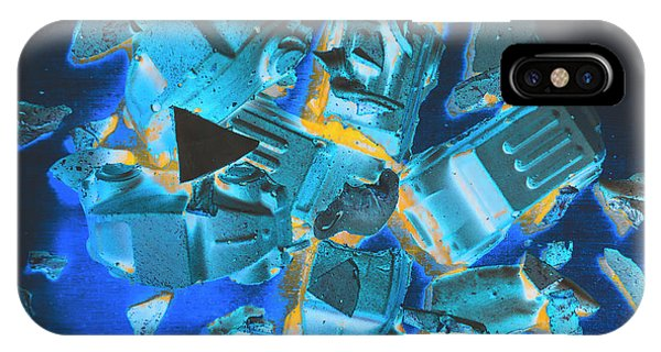 Explosion iPhone X Case - Just Like A Slow Motion Car Crash by Jorgo Photography - Wall Art Gallery