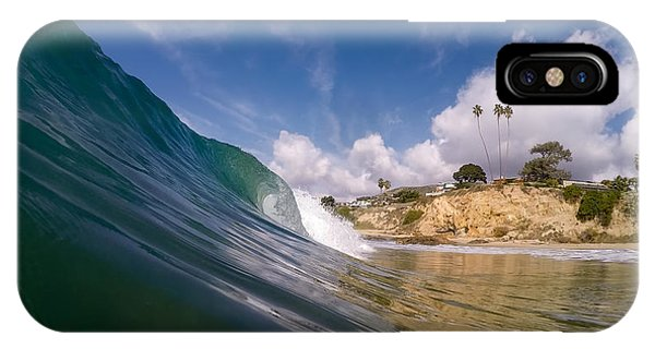 Just Me And The Waves IPhone Case