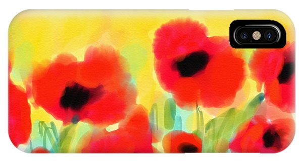Just Poppies IPhone Case