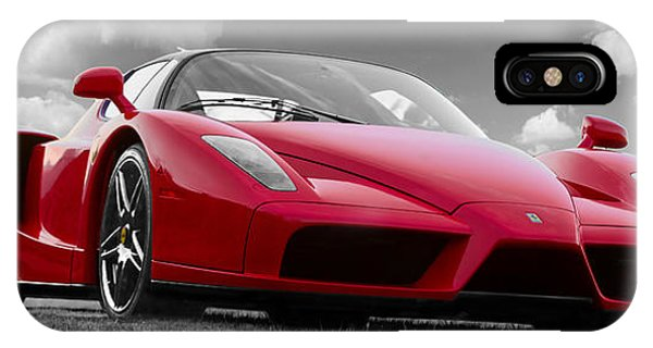 Just Red 1 2002 Enzo Ferrari IPhone Case